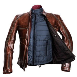 chaqueta-invierno-larga-cafe-racer-moto-lemans-marrón