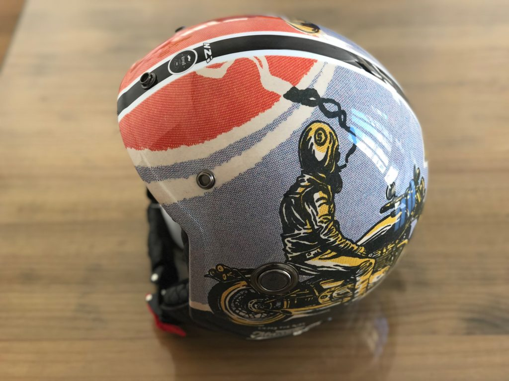 casco dapper riders diseno exclusivo