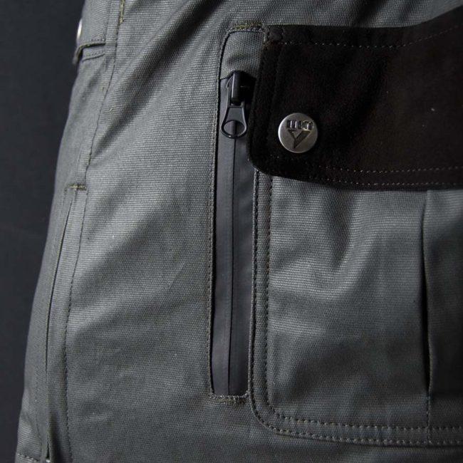 Chaqueta moto invierno cafe racer hombre london man limited edition detalle bolsillo