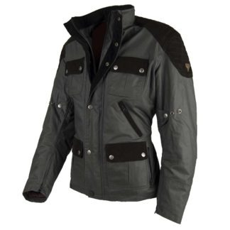 Chaqueta moto invierno cafe racer hombre london man limited edition frente